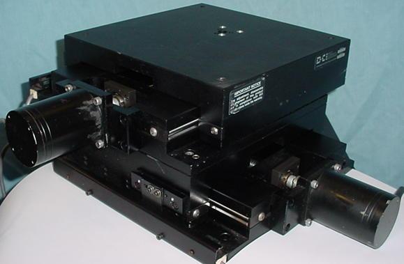 X Y Positioners, rail tables, stepper and servo motors: DCI, Daedal