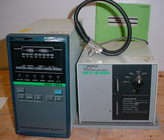 Image of WE2681-Miyachi-MEA-100A by E. McGrath Inc.